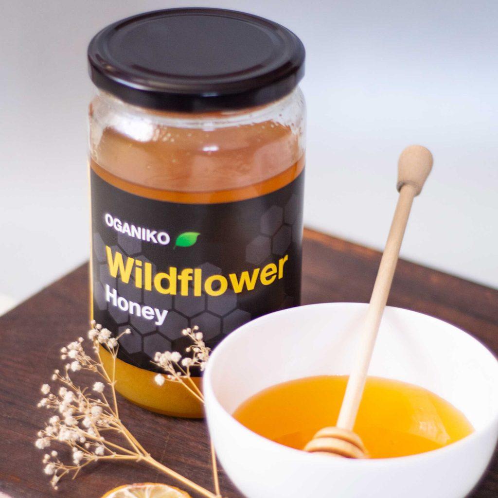 OGANIKO Wildflower Honey
