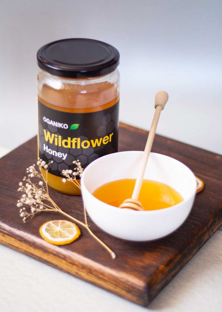 OGANIKO Wildflower honey